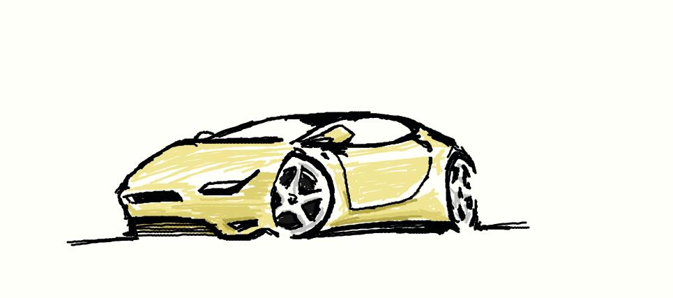 car sketch (muro) by ddsoul