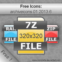 Free Icons-archiveicons01 2013.6 by MiroZarta