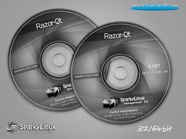 SparkyLinux 3.0 Annagerman Razor-Qt-Labels by MiroZarta