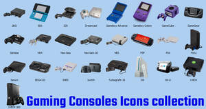 Consoles Icons Collection