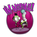 invader Zim icon by money666mo