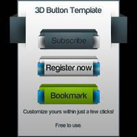 3D Buttons Template PSD by DirTek