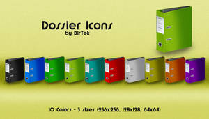 Dossier Icons Pack