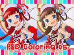 PSD coloring05 - Rainbow