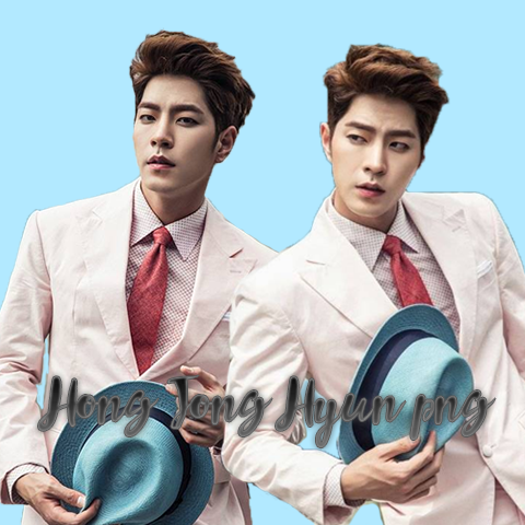 Hong Jong Hyun png's by HannieTheDeer