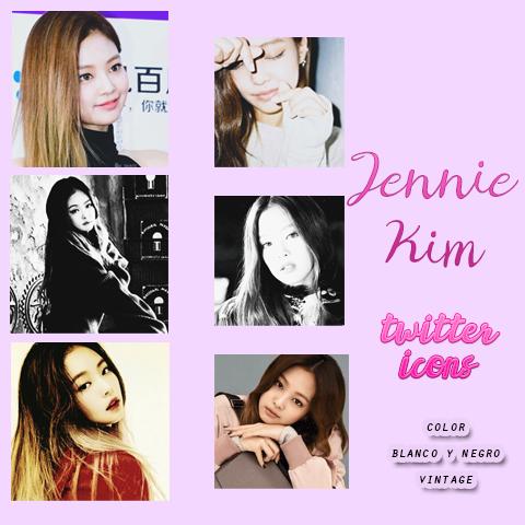 Jennie Kim icons by HannieTheDeer