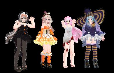 .: MMD Halloween models download :.
