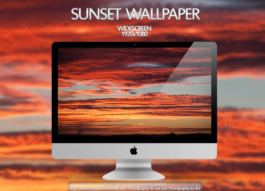 Sunset Wallpaper by Eternal-Polaroid
