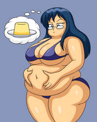 Becky's Pudding Belly (ANIMATED)