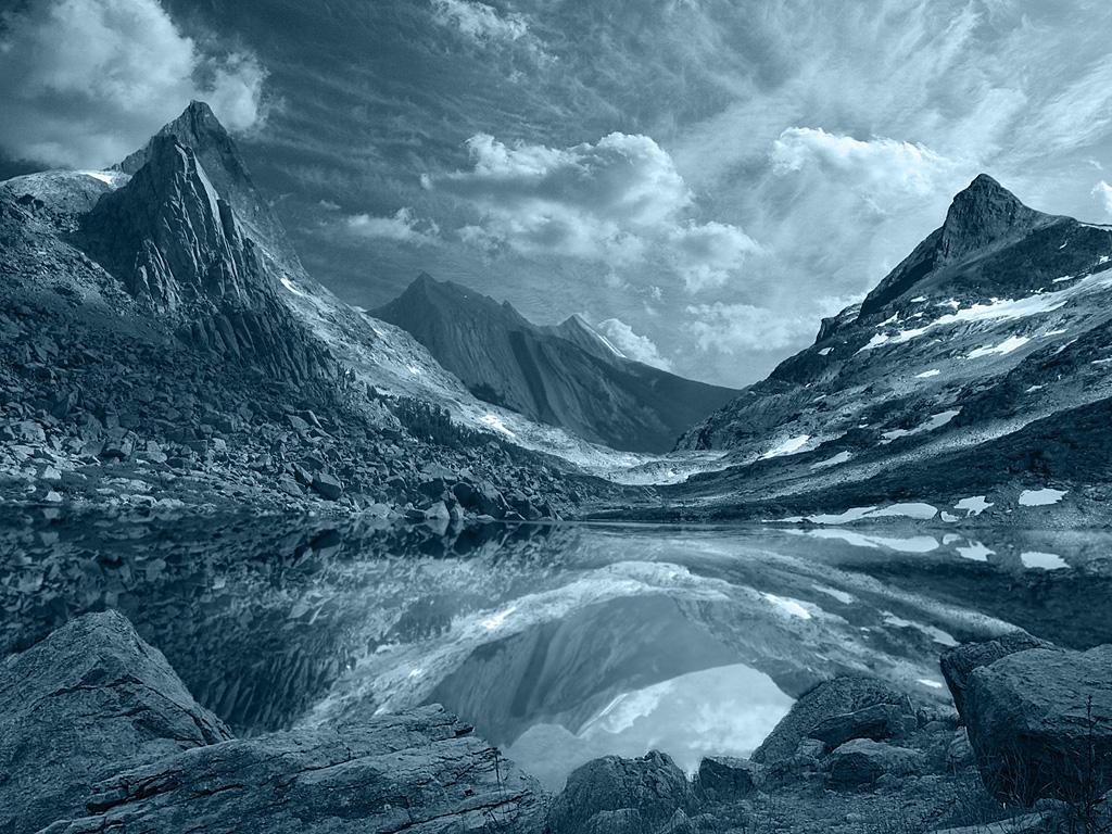 Mountain Lake WP by mekemee