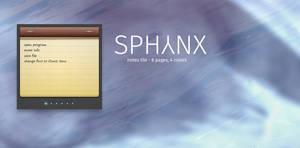 Sphynx Notes Tile