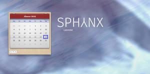 Sphynx Calendar Tile