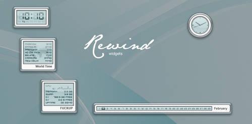 Rewind Widgets