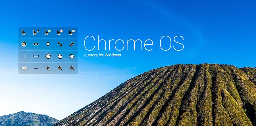 ChromeOS cursors by moshiAB on DeviantArt