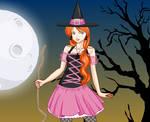 Dress up Halloween Witch