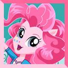 Equestria Girls Pinkie Pie Dress Up by heglys