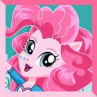 Equestria Girls Pinkie Pie Dress Up
