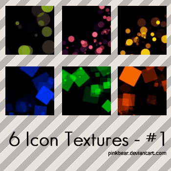6 Icon Textures 01 by pinkbear0711