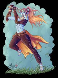 DnD Character: Jewel Mist by CassyChu