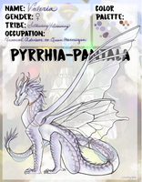 Pyrrhia-Pantala AU Application: Valeria by allyval