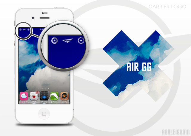 Air GG Carrier Logo by ashleighwin