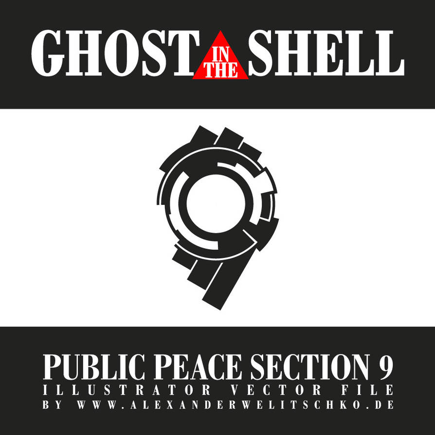 Ghost In The Shell Public Peace Section 9 Logo By Alexanderwelitschko On Deviantart