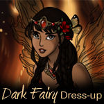 Dark Fairy Dress up Game
