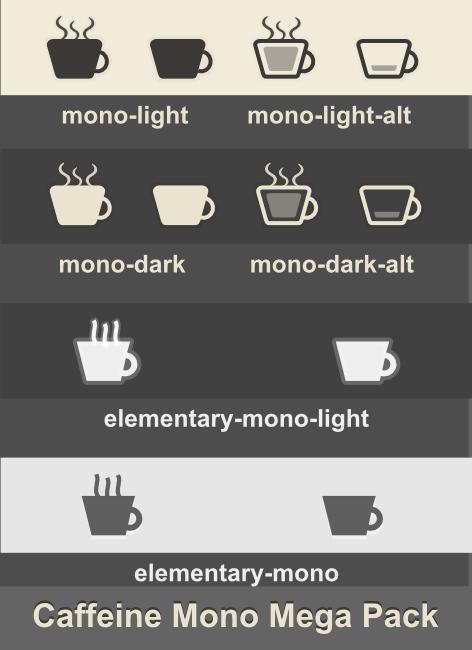Caffeine-mono MegaPack by 0rAX0