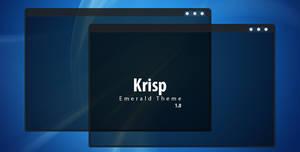 Krisp - Emerald theme by 0rAX0