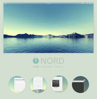 GNOME Shell: Nord