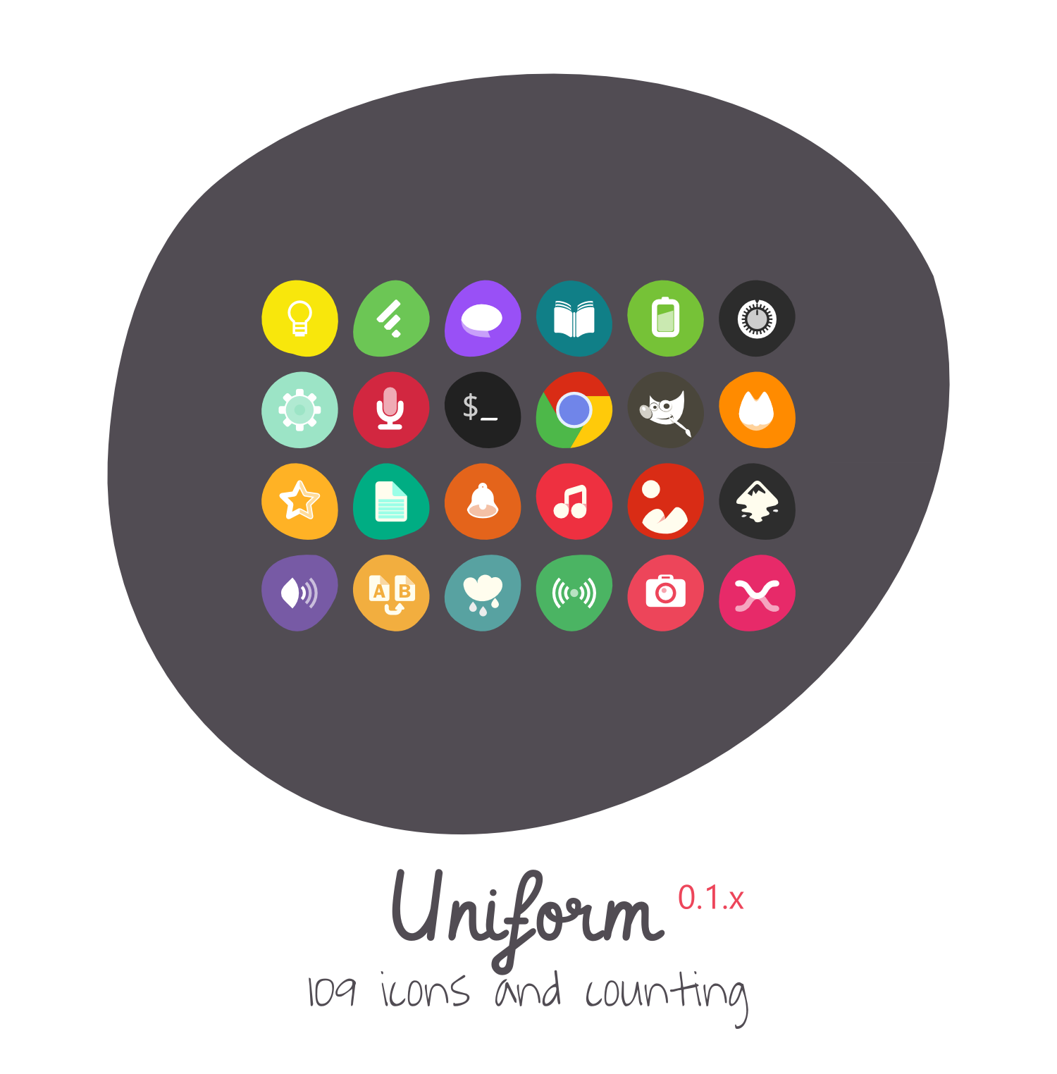 Uniform Icon Theme by 0rAX0 on DeviantArt