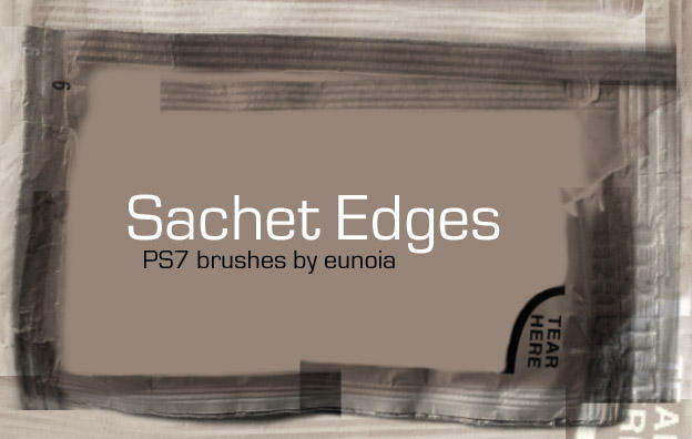 Brush - Sachet Edges by eunoiastock