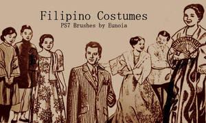 Brush - Filipino Costumes