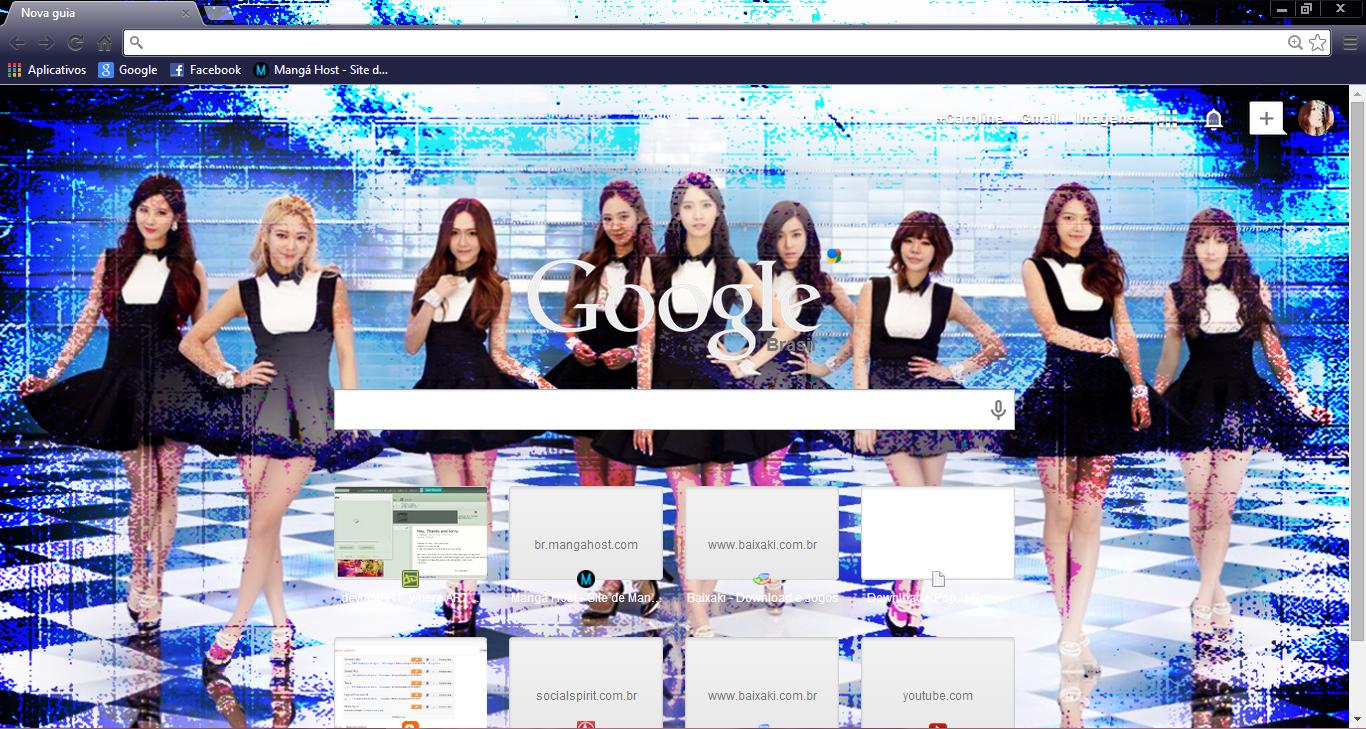 Google theme kpop exo -  Snsd Mr Mr Chrome Theme By Sellscarol
