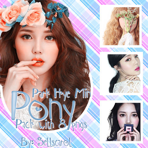 Pony (Park Hye Min) Ulzzang PACK With 8 PNGs by Sellscarol