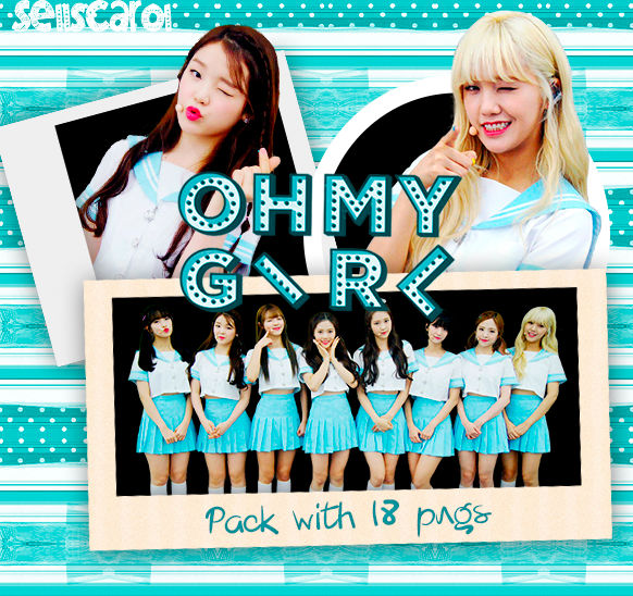 OH MY GIRL [OMG] PACK WITH 18 PNGS [RENDER]