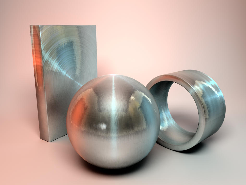 Cinema4D-brushed metal-steel by stuffjm