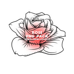 PACK PNG Roses by CottonCandyTime
