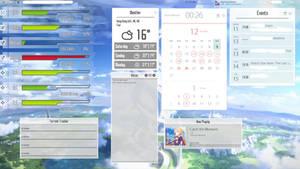 Sword Art Online Rainmeter Suite