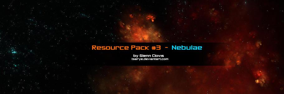 Resource Pack 3 Nebulae by GlennClovis