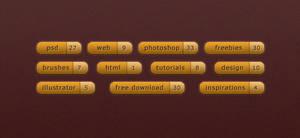 Free Tags - PSD