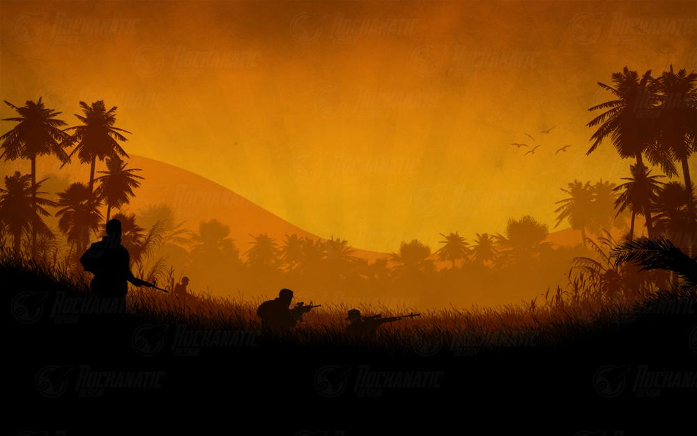 Run Through The Jungle by rockanatic