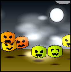 Pak-9 - Beanies Halloween mix by tuggummi