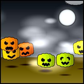 Pak-9 - Beanies Halloween mix