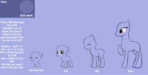 MLP FIM - Earth Pony Age chart