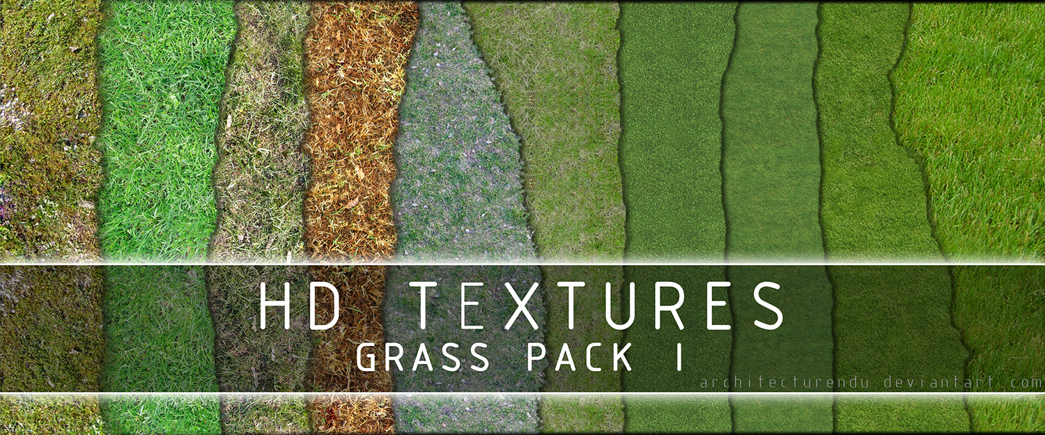Grass Pack I by Architecturendu