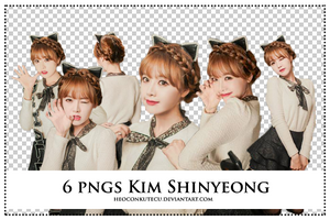 PNGs Pack Kim Shinyeong by Heoconkutecu