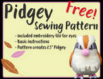 Pidgey - Free Sewing Pattern!