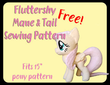 Fluttershy Mane and Tail Pattern