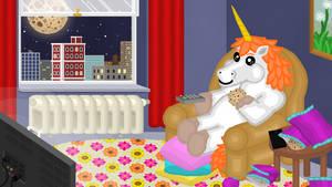 Moonicorn's Cookie Quest - Scene 1